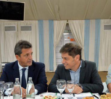 DIPUTADOS Y SENADORES DEL FDT SE REUNIERON CON KICILLOF
