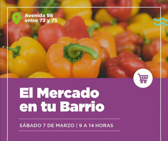 SE ANUNCIA PARA MARZO LA VUELTA DE «EL MERCADO EN TU BARRIO».