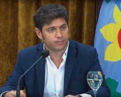 EL GOBERNADOR BONAERENSE SE EXPRESÓ SOBRE LAS TARIFAS DE SERVICIOS PÚBLICOS.