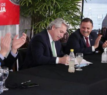 EL PRESIDENTE INTERRUMPIÓ SU GIRA POR LA SITUACIÓN DE INSAURRALDE.