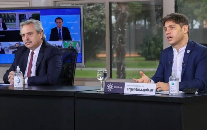 FERNANDEZ ANUNCIÓ UN PROGRAMA DE OBRAS PÚBLICAS EN 5 PROVINCIAS.