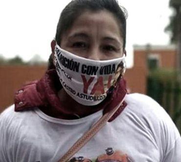 EL PRESIDENTE RECIBIÓ EN OLIVOS A LA MAMÁ DE FACUNDO ASTUDILLO, CRISTINA CASTRO.