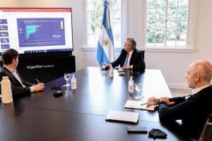 EL PRESIDENTE SE REUNIÓ CON LARRETA Y KICILLOF. SE ANALIZA EXTENDER EL AISLAMIENTO.