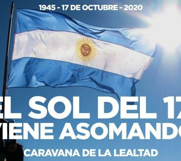 17 DE OCTUBRE: ADEMÁS DEL CIBER ACTO HABRÁ UNA CARAVANA DE APOYO AL PRESIDENTE Y A CRISTINA.