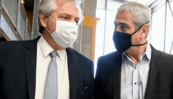 EL PRESIDENTE LE TOMÓ JURAMENTO AL MINISTRO JORGE FERRARESI.